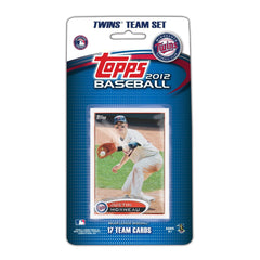 Minnesota Twins 2012 Topps Team Set - C & I Collectables