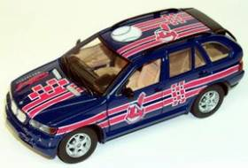 Cleveland Indians Fleer Collectibles 2002 BMW X-5 - White Rose