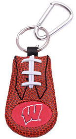 Wisconsin Badgers Keychain - Classic Football - Gamewear