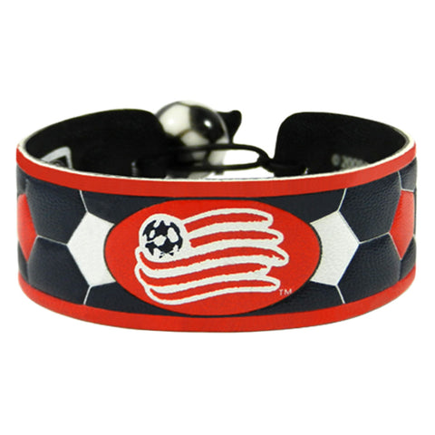 New England Revolution Team Color Soccer Bracelet - Gamewear