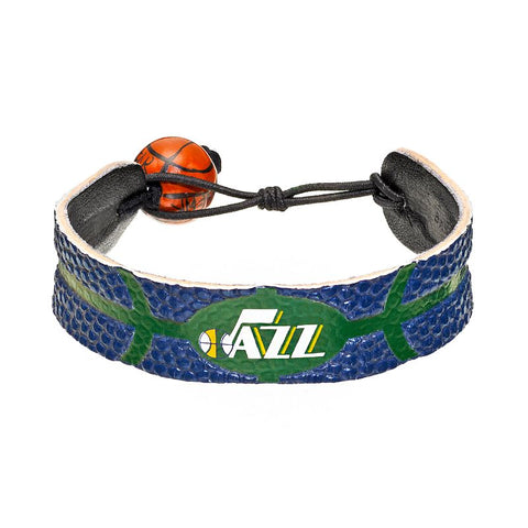 Utah Jazz Team Color Basketball Bracelet - Gamewear