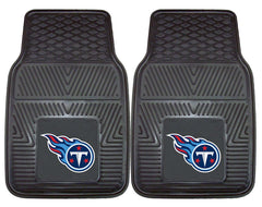 Tennessee Titans Car Mats Heavy Duty 2 Piece Vinyl - Fanmats