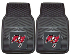 Tampa Bay Buccaneers Car Mats Heavy Duty 2 Piece Vinyl - Fanmats