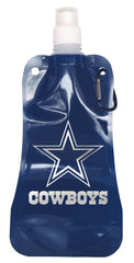 Dallas Cowboys 16 ounce Foldable Water Bottle - Boelter Brands