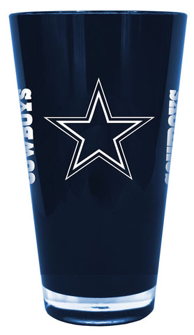 Dallas Cowboys 20 oz Insulated Plastic Pint Glass - Boelter Brands