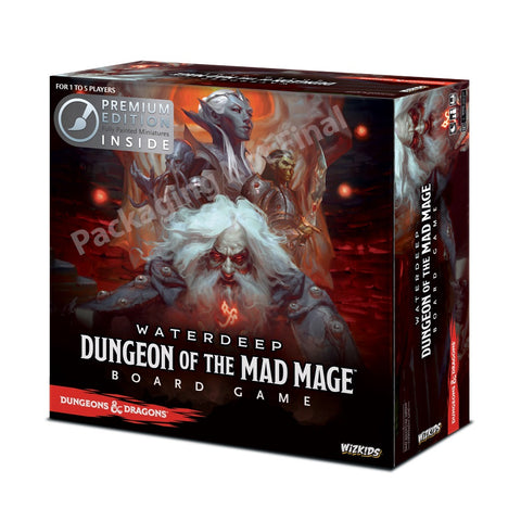 Wizkids - D&D Waterdeep: Dungeon Of The Mad Mage Adventure Board Game (Standard)
