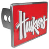 Nebraska Cornhuskers Trailer Hitch Cover - Siskiyou