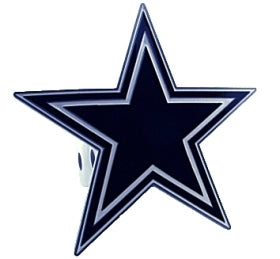 Dallas Cowboys Trailer Hitch Logo Cover - Siskiyou