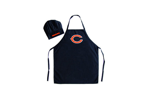 Chicago Bears Apron and Chef Hat Set - Pro Specialties Group
