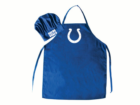 Indianapolis Colts Apron and Chef Hat Set - Pro Specialties Group