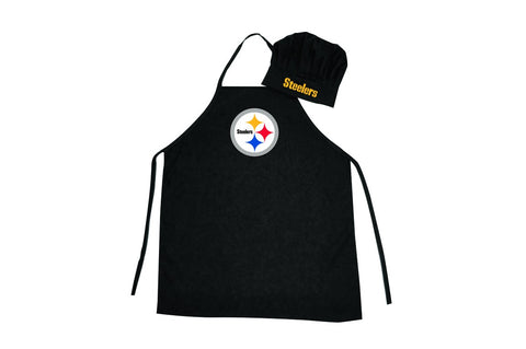 Pittsburgh Steelers Apron and Chef Hat Set - Pro Specialties Group
