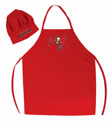 Tampa Bay Buccaneers Apron and Chef Hat Set - Pro Specialties Group