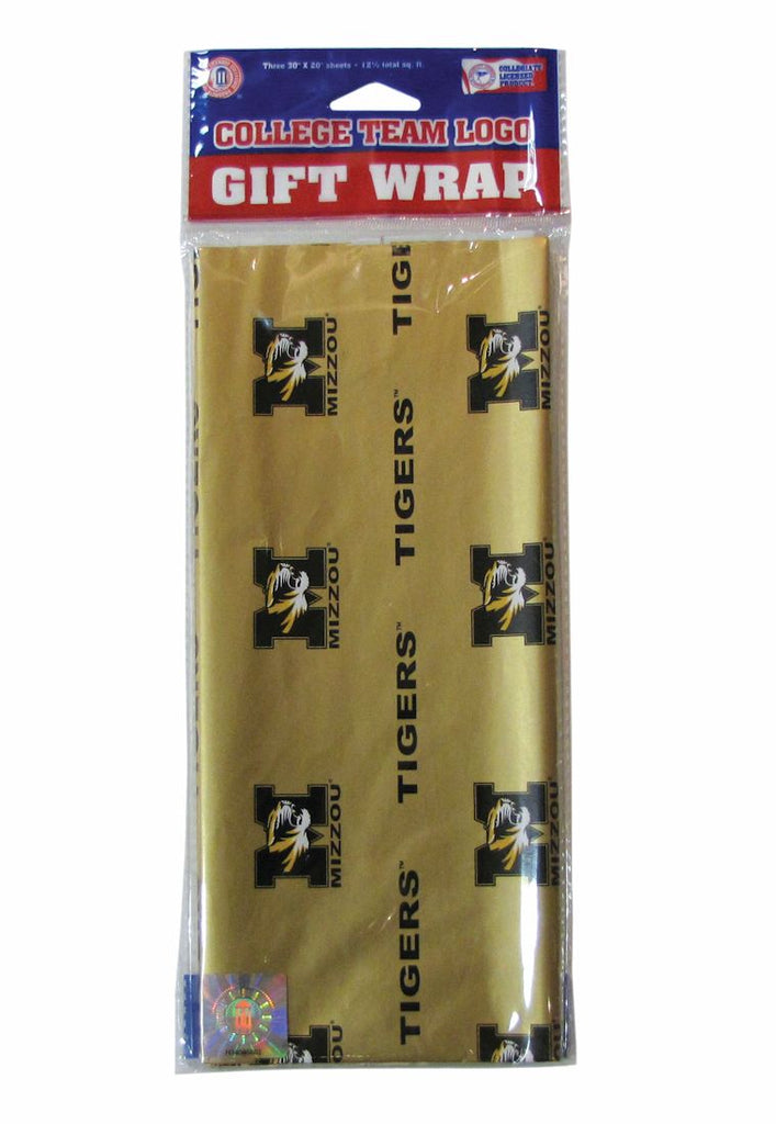 Missouri Tigers Gift Wrap - Pro Specialties Group
