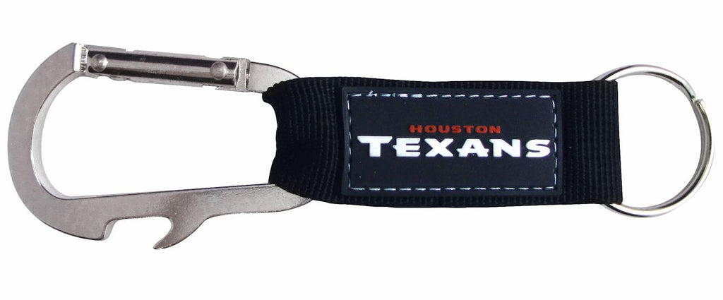 Houston Texans Carabiner Keychain - Pro Specialties Group