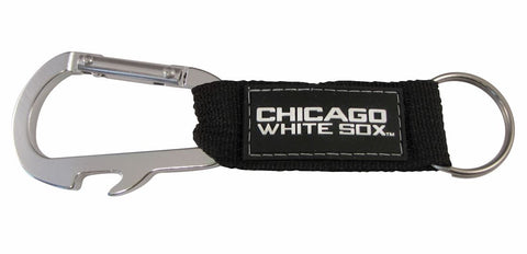 Chicago White Sox Carabiner Keychain - Pro Specialties Group