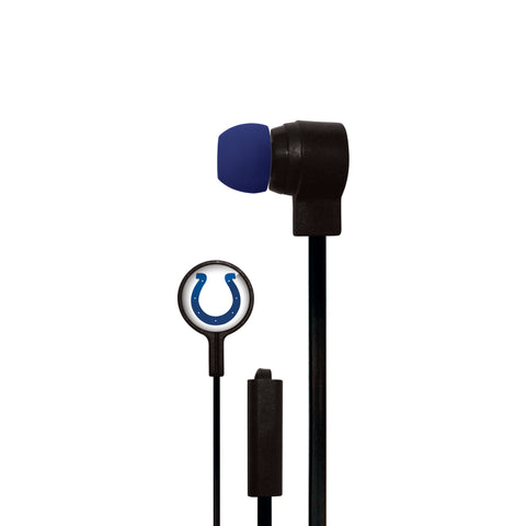 Indianapolis Colts Big Logo Ear Buds - Mizco Sports