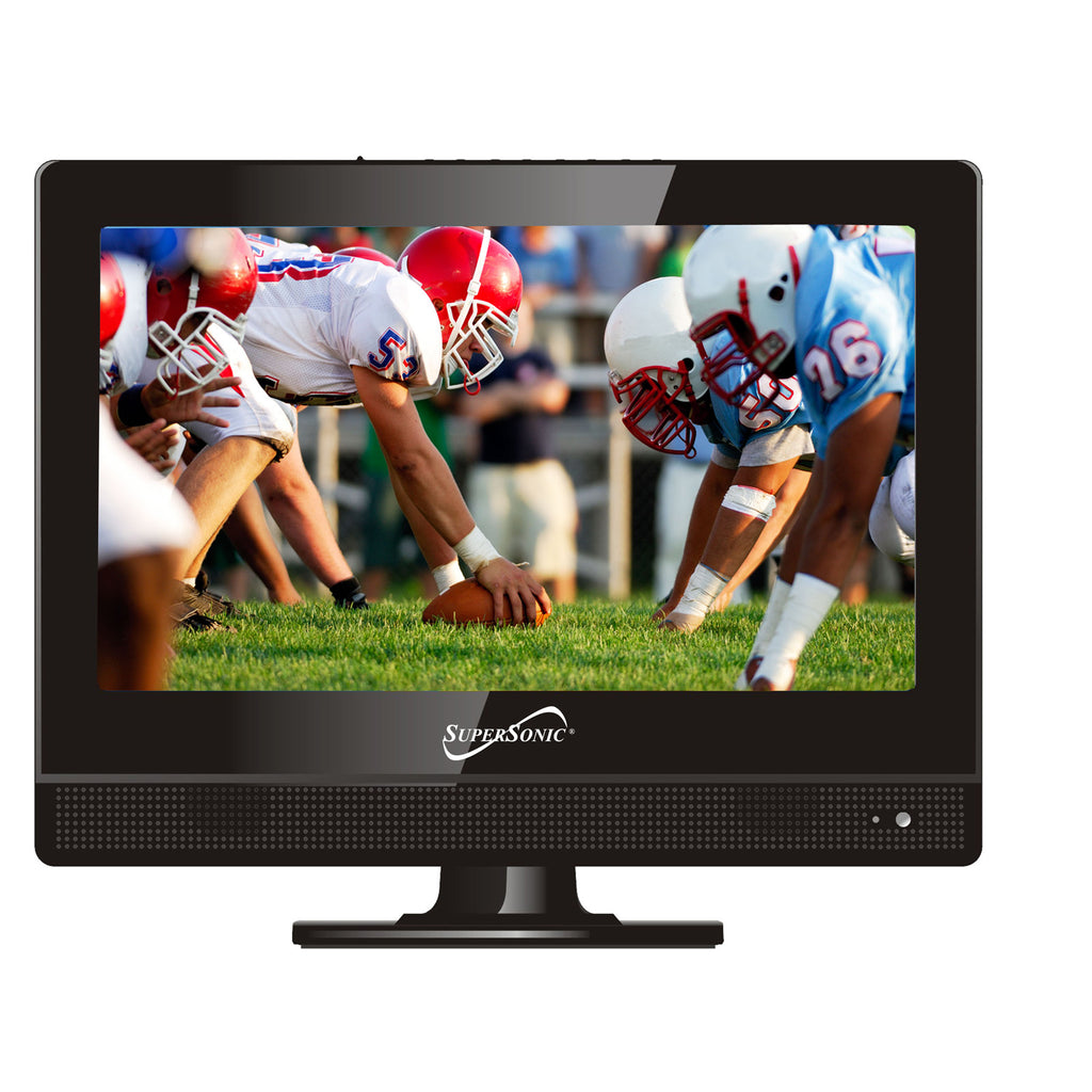 Supersonic  13.3 '' Class LED HDTV with USB and HDMI Inputs
