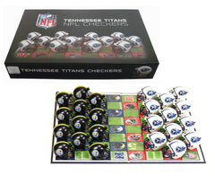 Tennessee Titans Checker Set - Rico Industries