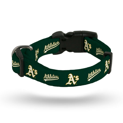 Oakland Athletics Pet Collar Size L - Rico Industries