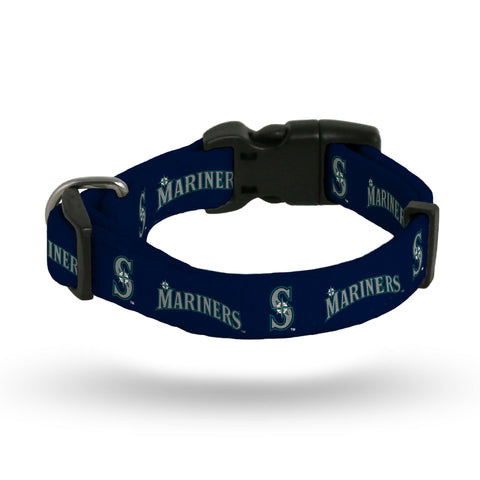 Seattle Mariners Pet Collar Size M - Rico Industries