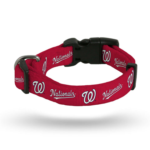 Washington Nationals Pet Collar Size L - Rico Industries