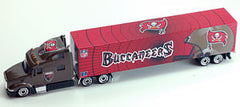 Tampa Bay Buccaneers 1:80 2011 Tractor Trailer - Press Pass