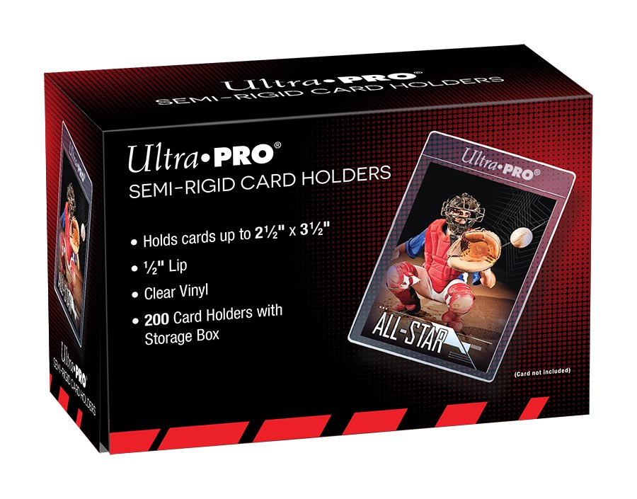 Semi-Rigid Card Holders (200 per box) - Ultra Pro