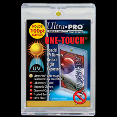 One Touch UV Card Holder With Magnet Closure - 100pt - Ultra Pro