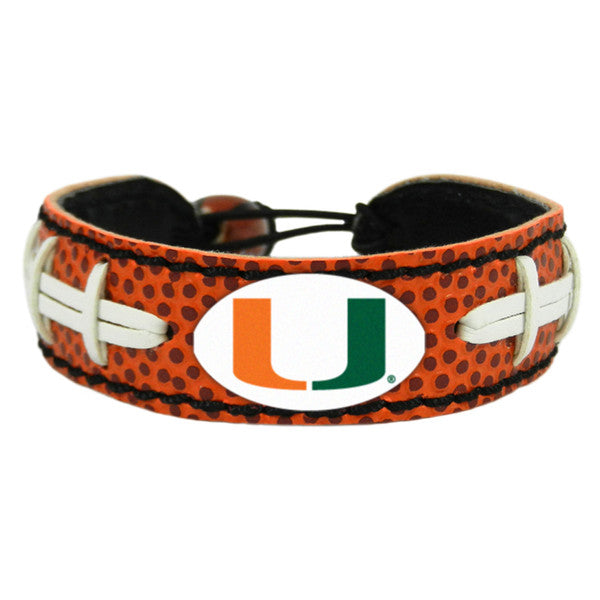 Miami Hurricanes Bracelet - Classic Football - Gamewear