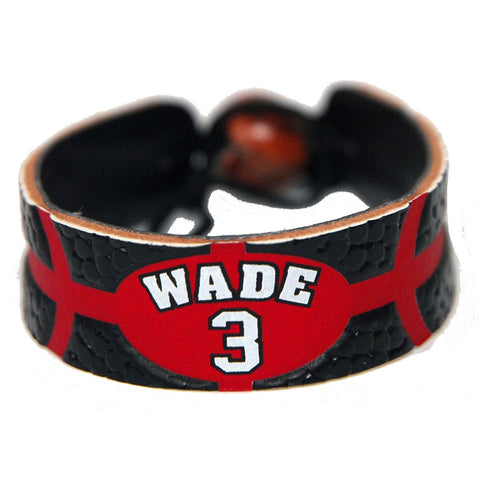 Dwyane Wade Team Color NBA Jersey Bracelet - Gamewear