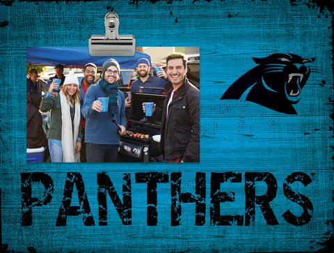 Carolina Panthers Clip Frame - Fan Creations