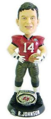 Tampa Bay Buccaneers Brad Johnson Super Bowl 37 Ring Forever Collectibles Bobblehead - Forever Collectibles