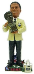Houston Oilers Elvin Bethea 2003 Hall of Fame Bust Forever Collectibles Bobblehead - Forever Collectibles