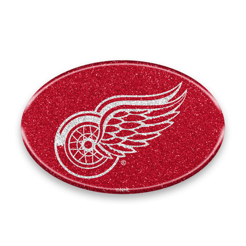 Detroit Red Wings Auto Emblem - Oval Color Bling - Team Promark