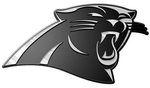 Carolina Panthers Auto Emblem - Silver - Team Promark