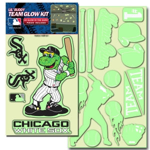 Chicago White Sox Decal Lil Buddy Glow in the Dark Kit - Team Promark