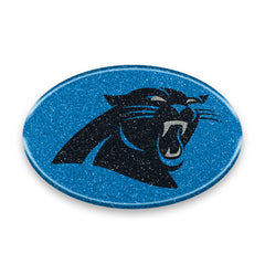 Carolina Panthers Auto Emblem - Oval Color Bling - Team Promark