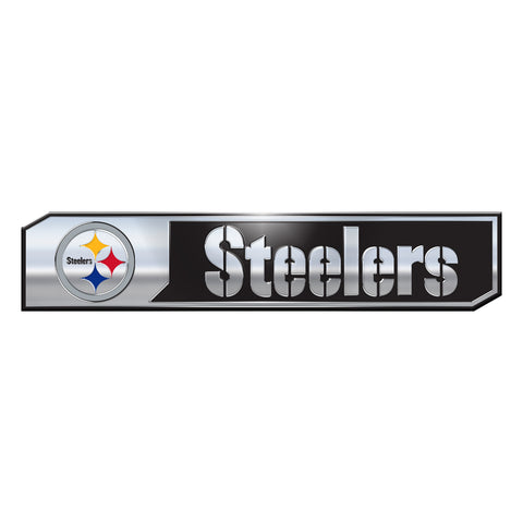 Pittsburgh Steelers Auto Emblem Truck Edition 2 Pack - Team Promark