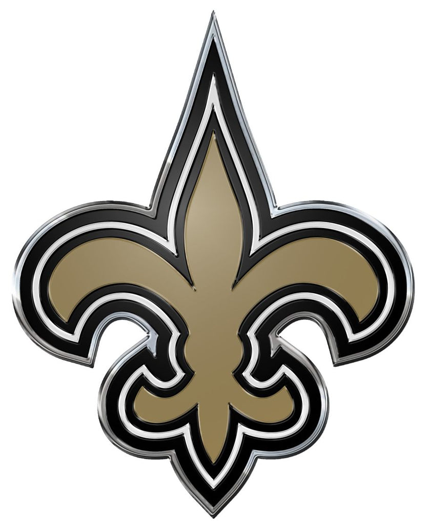 New Orleans Saints Auto Emblem - Color - Team Promark