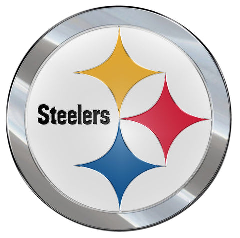 Pittsburgh Steelers Auto Emblem - Color - Team Promark
