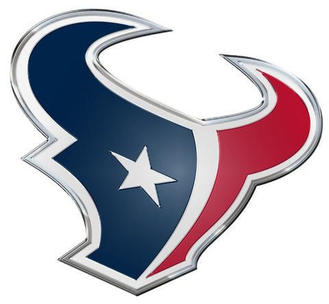Houston Texans Auto Emblem - Color - Team Promark