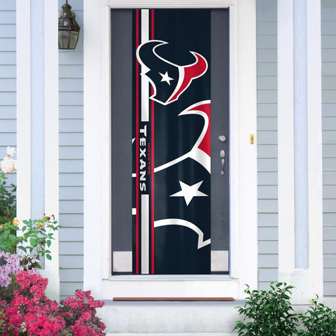Houston Texans Banner Door - Team Promark
