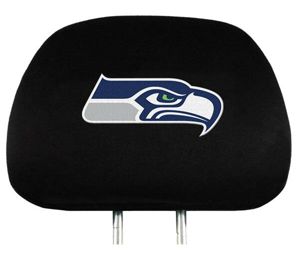 Seattle Seahawks Headrest Covers - Team Promark