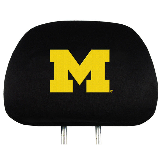 Michigan Wolverines Headrest Covers - Team Promark