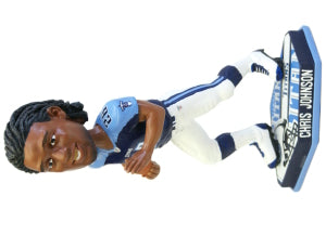 Tennessee Titans Chris Johnson Forever Collectibles Thematic Base Bobblehead - Forever Collectibles