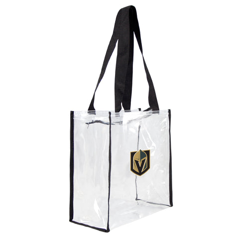 Vegas Golden Knights Tote Clear Square Stadium - Little Earth