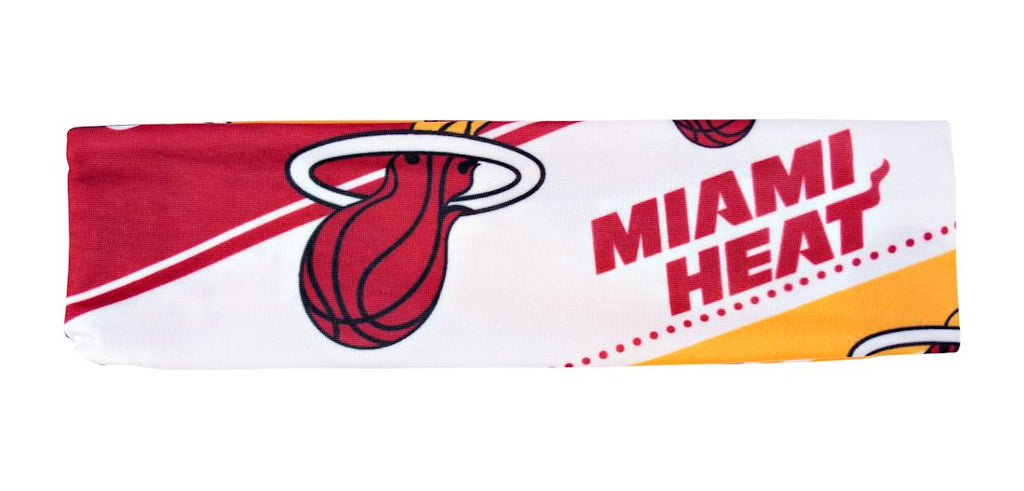Miami Heat Stretch Patterned Headband - Little Earth