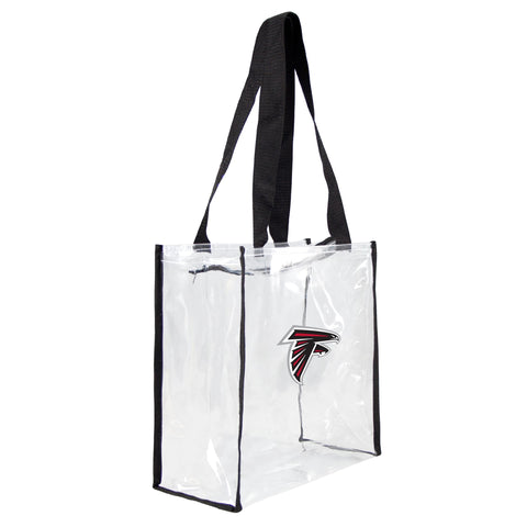 Atlanta Falcons Clear Square Stadium Tote - Little Earth
