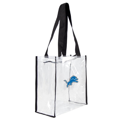Detroit Lions Clear Square Stadium Tote - Little Earth