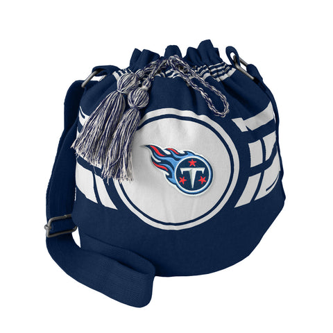 Tennessee Titans Bag Ripple Drawstring Bucket Style - Little Earth